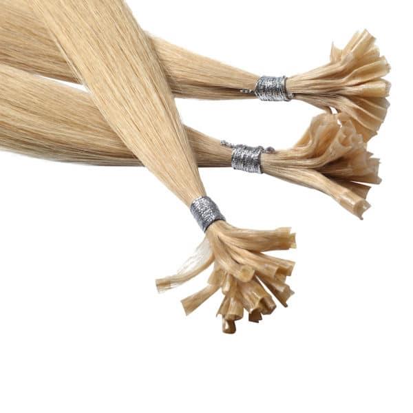 Close up van Linde - Diamond Series hairextensions van Perfect Hair