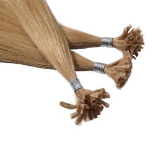 Close up van Zoe - Diamond Series hairextensions van Perfect Hair