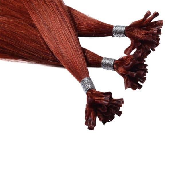 Close up van Louise - Diamond Series hairextensions van Perfect Hair