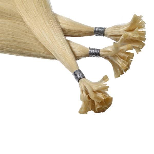 Close up van Fleur - Diamond Series hairextensions van Perfect Hair