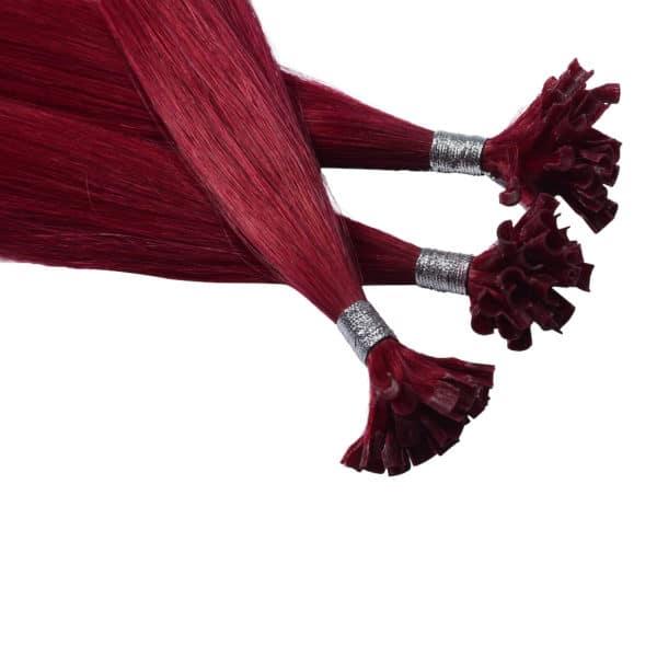 Close up van Rihanna - Diamond Series hairextensions van Perfect Hair