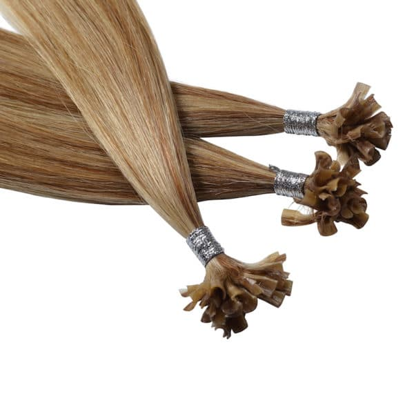 Close up van Lauren - Diamond Series hairextensions van Perfect Hair