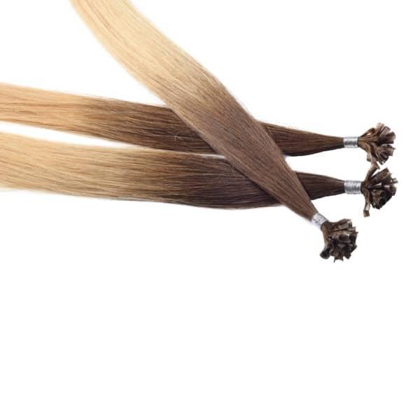 Close up van Zara - Diamond Series hairextensions van Perfect Hair