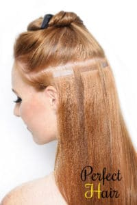 Perfect Hair tape extensions