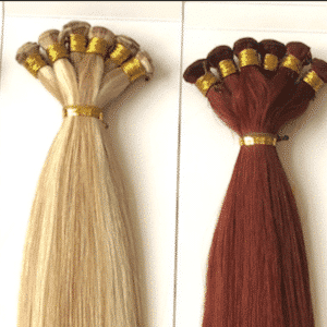 Hand Tied Wefts Hairextensions