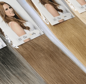 Invisible Tape Hairextensions